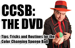 Color Changing Spongeball DVD